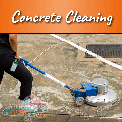 Concrete Cleaning in Ronkonkoma, NY | Island Soft Wash